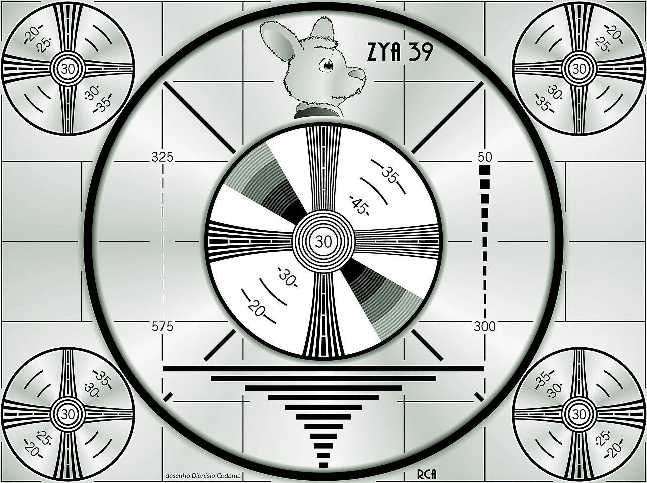 imagem teste de televisao indian head